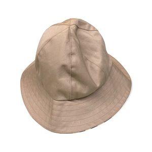 Burberrys' Vintage Bucket Hat Tan Nova Check